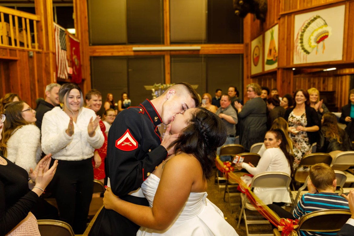Kiss at the recessional