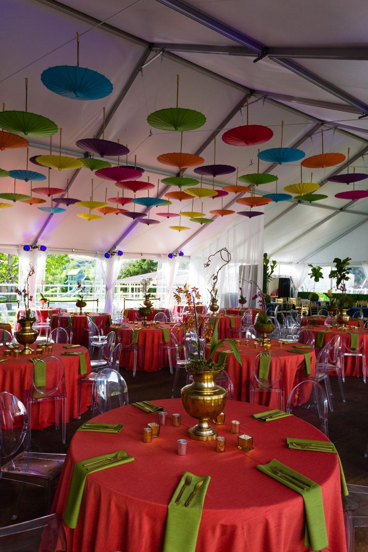 Chinese umbrellas for decor