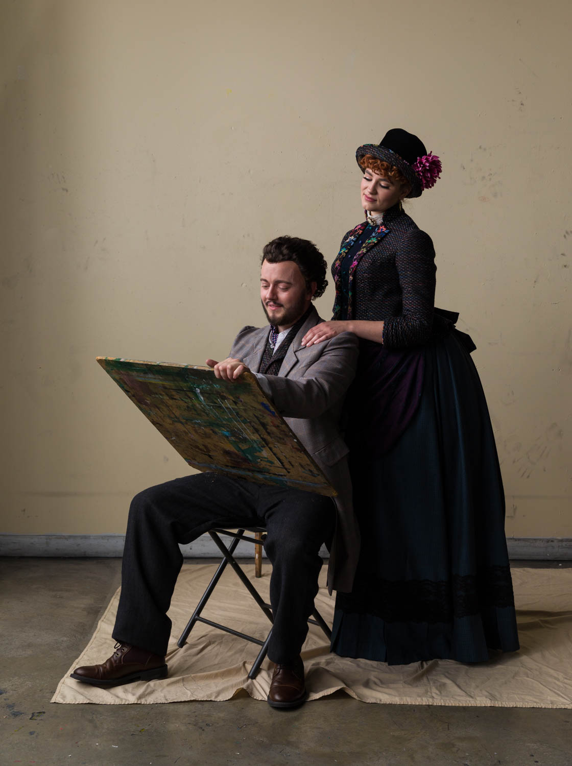 Promotional photography for the play