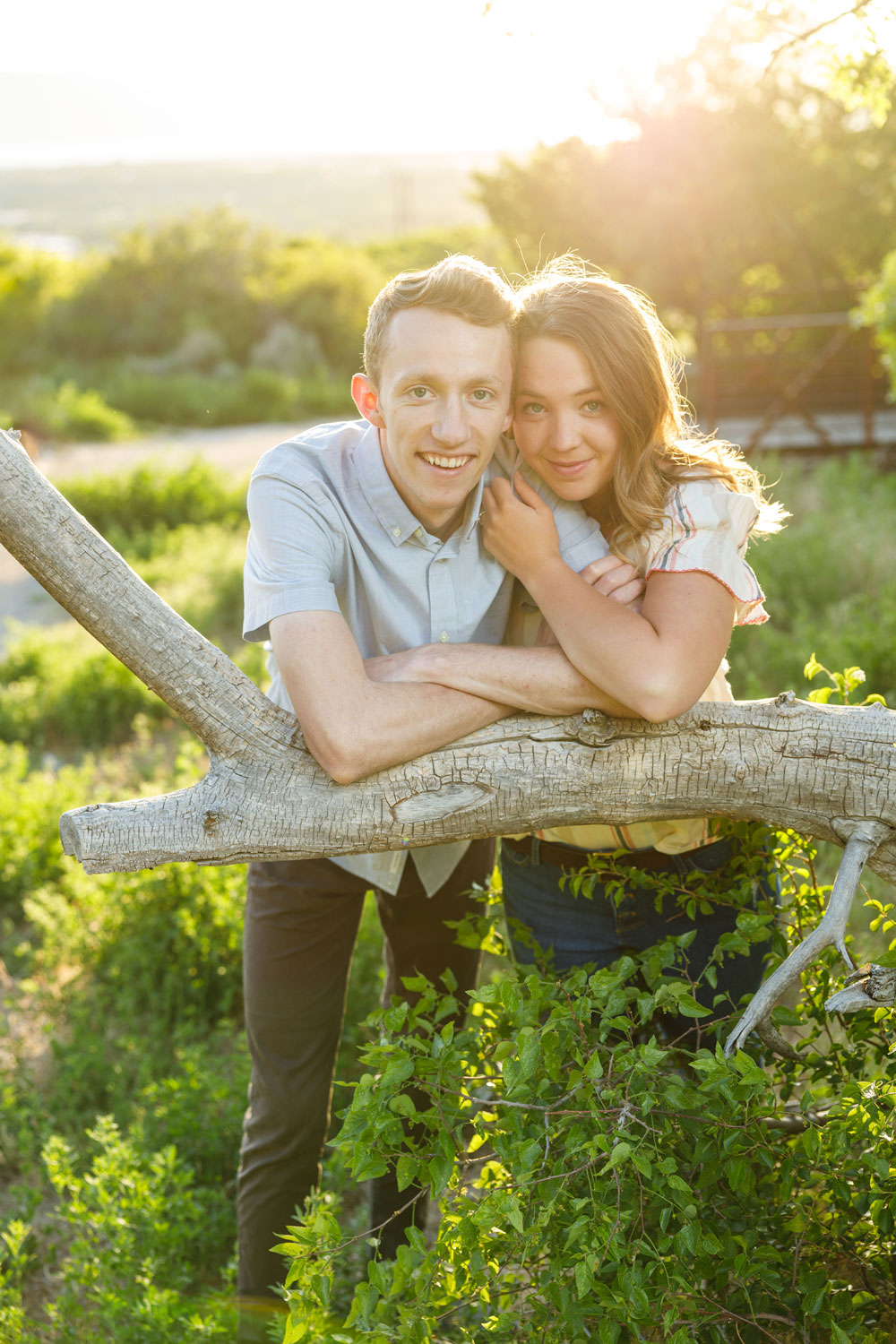 Engagement shoot in Provo