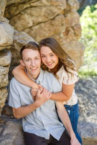 Nature is awesome for engagements