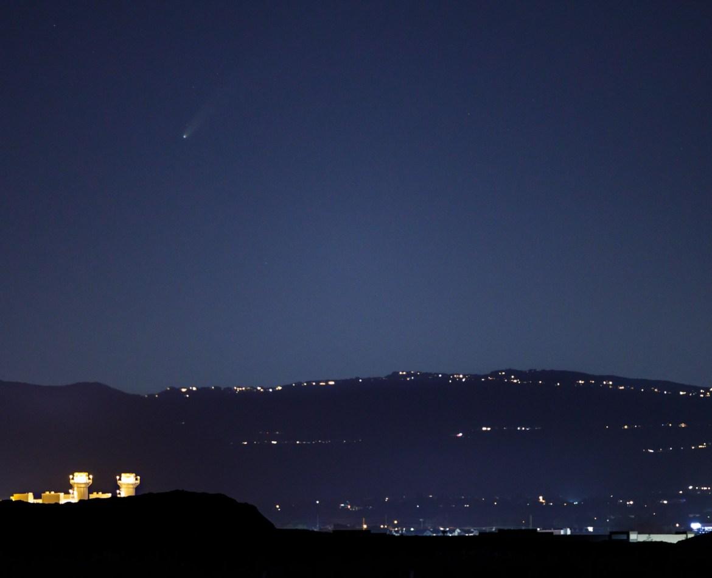 Neowise Comet over Utah County