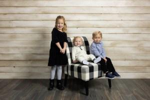 The kids' portrait