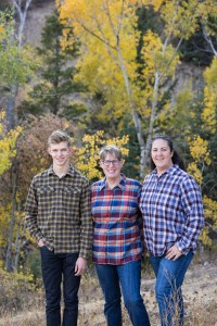 Family portraits in autumn