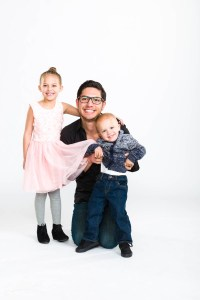 Uncle with kids