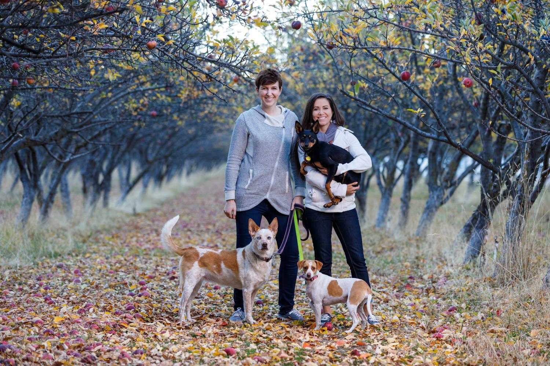 Megan & Karen's photos in an orchard