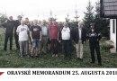 DAV DVA – Oravské memorandum z 25. augusta 2018