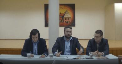 Luboš Blaha v Bardejove, moderovali Lukáš Perný a David Diczhazy
