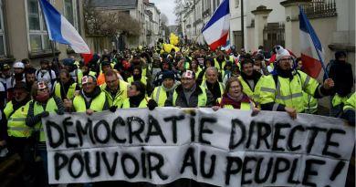 Žlté vesty - paríž