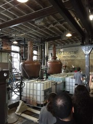 The tour gives you good views of the distilling tanks