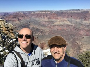 Grand Canyon selfie. Required.