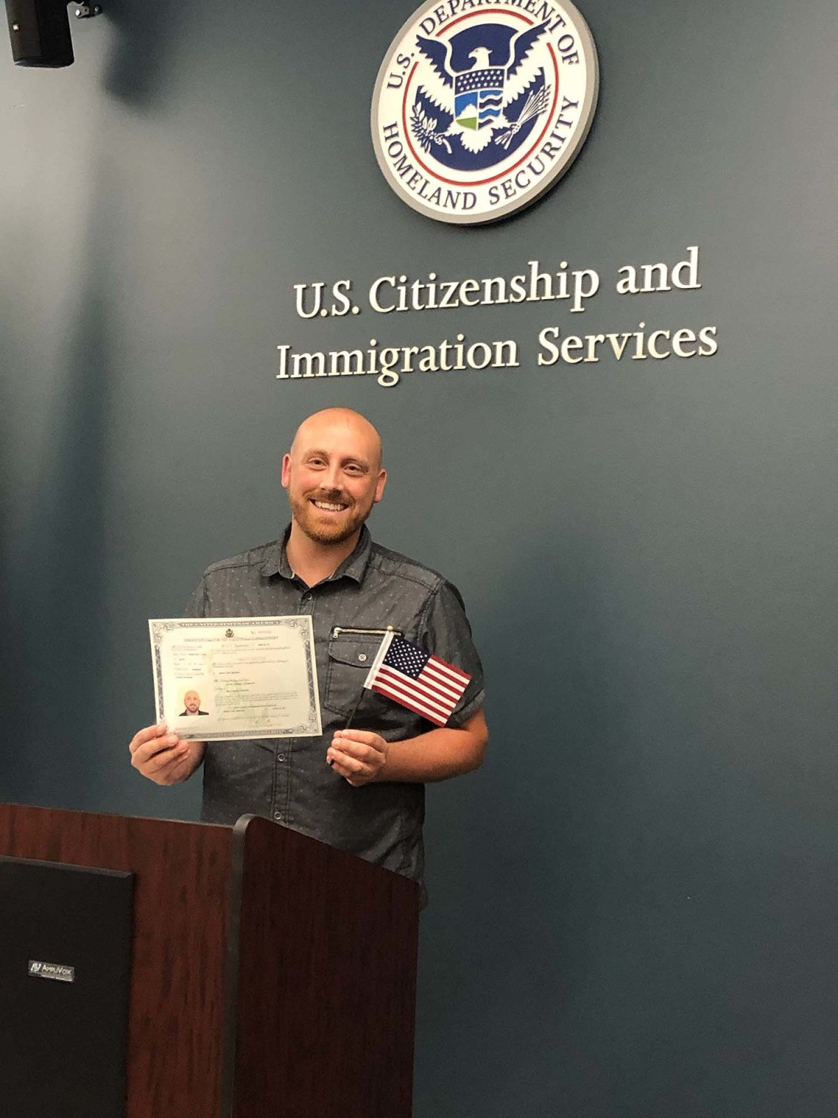 Becoming an American citizen