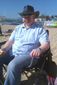 Dave on the beach