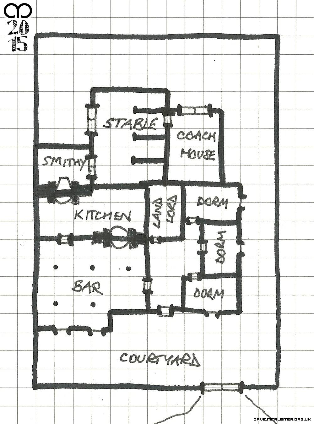 A Roadside Inn Map