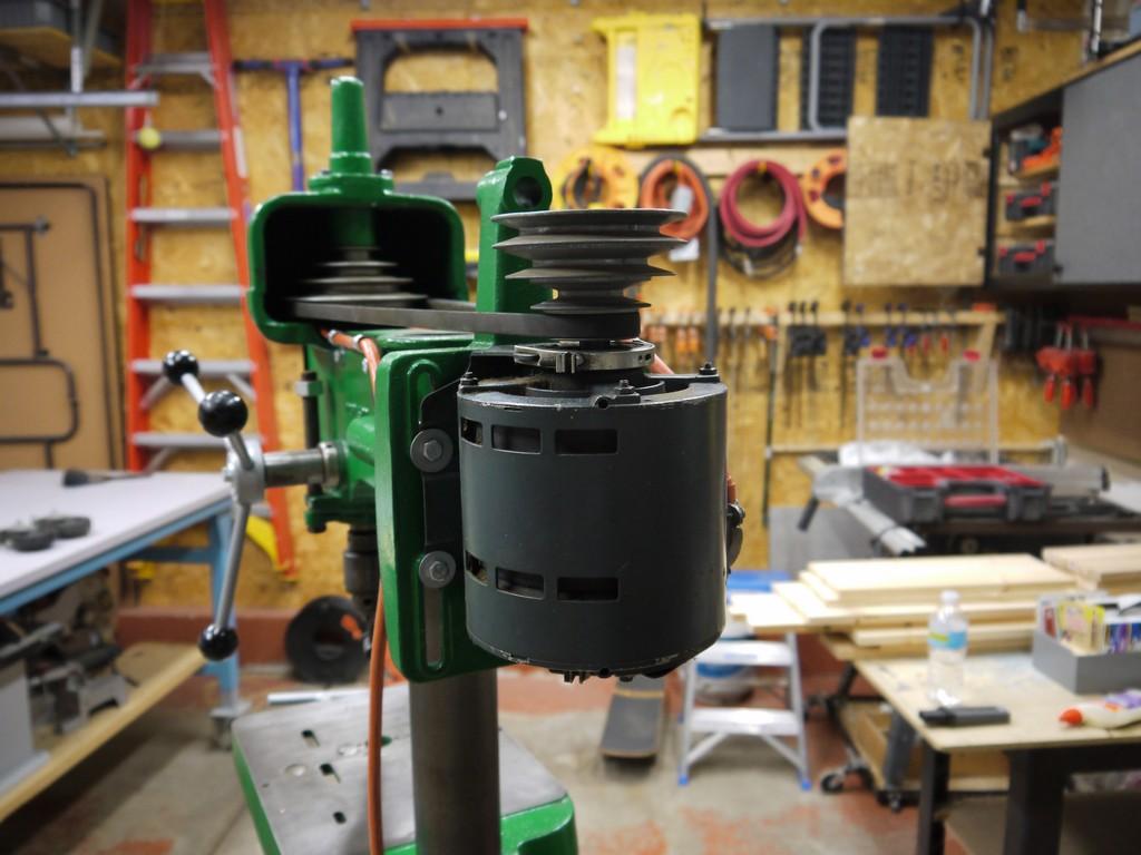 Walker-Turner Drill Press Restoration - Part 2 - The Workbench