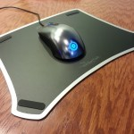 Rocketfish Gaming Mousepad and Steel Series Sensei Mouse