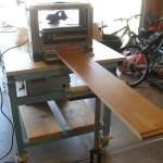 Miniature Dresser: Birch Planed