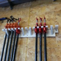 Clamp Rack - Part 1: Pipe Clamps