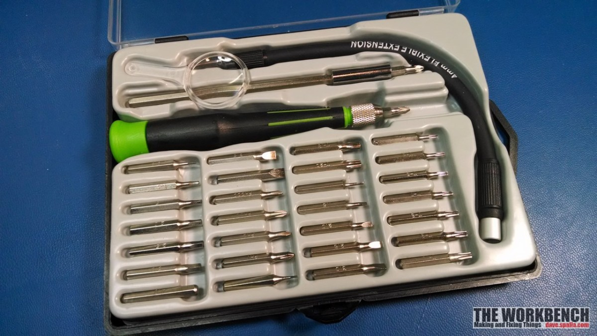 Review:  Pittsburgh 33 Piece Precision Screwdriver Set