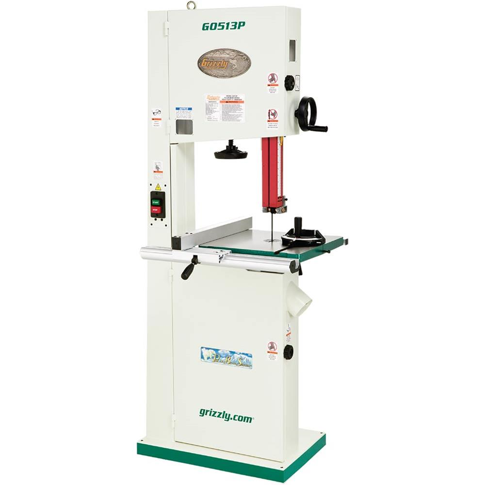 Review:  Grizzly G0513P Bandsaw
