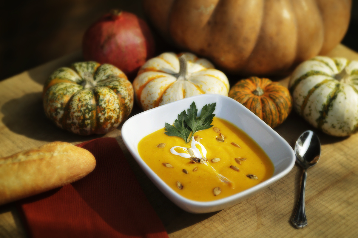 Photo of Main Street Cellars Squash Soup