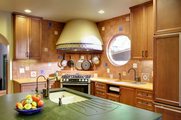 Photo of Pressed paper counter tops