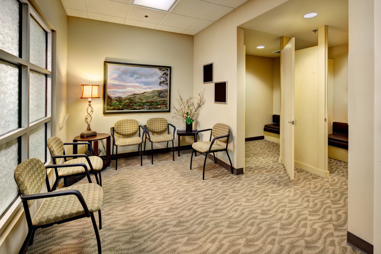 Photo of Cancer Center Dressing & Waiting Room
