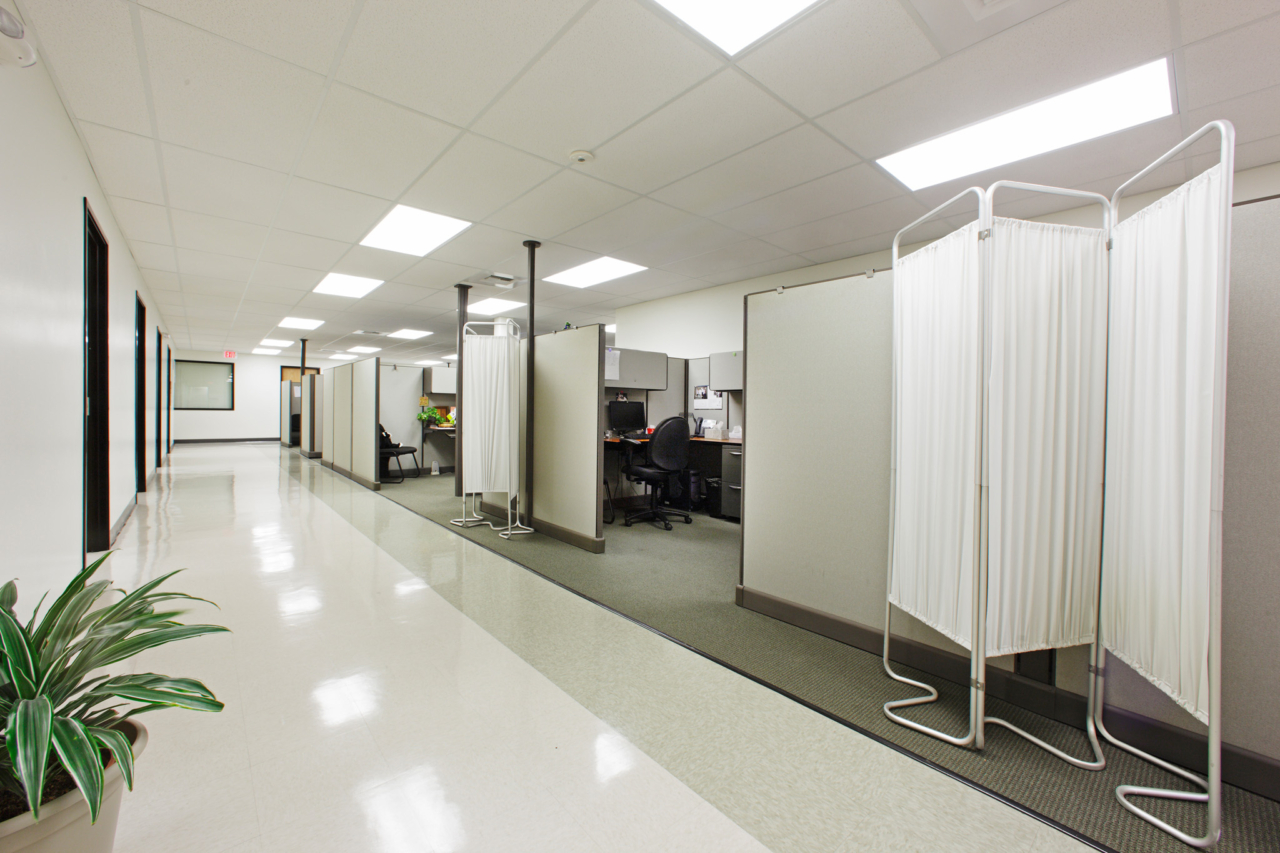 Photo of Clinic Cubicles at The Effortt