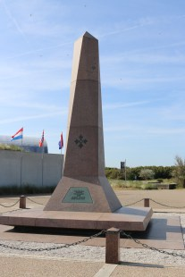 Monument of the 4th Infantry Division.