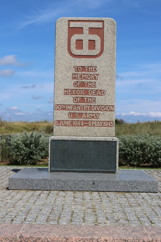 The 90th Infantry Division Monument.