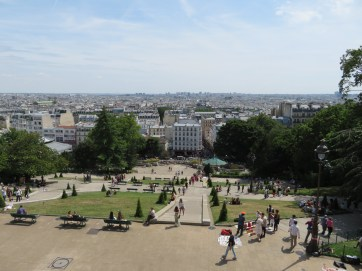 View from Montmarte.