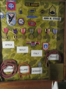 John Steele's medals.
