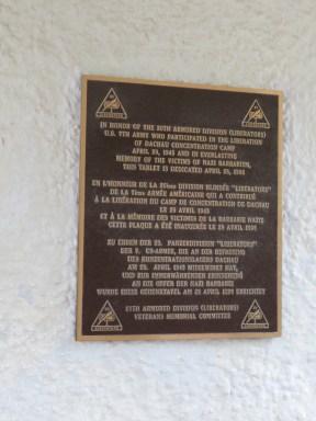 Plaque to Liberators
