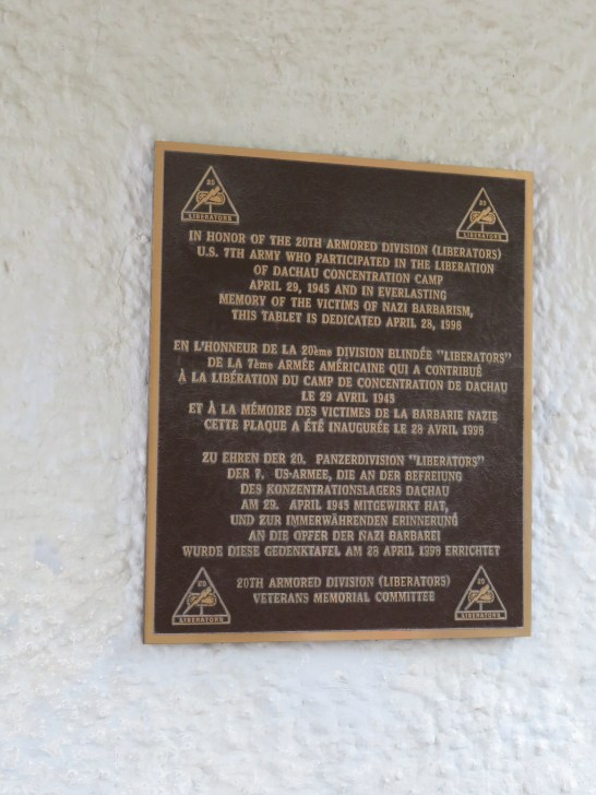 Plaque to Liberators
