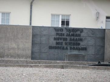 Daschau Memorial site
