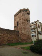 part of Obernai's medieval walls.