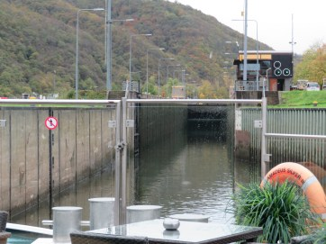 One of the many locks we went through.