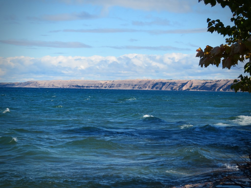 View from the Au Sable Point Lighthouse