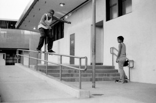 """Felix - I grew up enjoying a late night vhs sesh with the friends watching Planet Earth (""""F.O.R.E. & Friends). Now seeing everything this man does first hand is inspiring. He's man that creates, shreds & battles for skateboarding."""