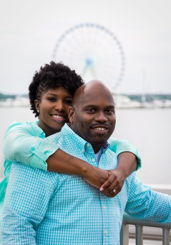 National Harbor Engagement Photos
