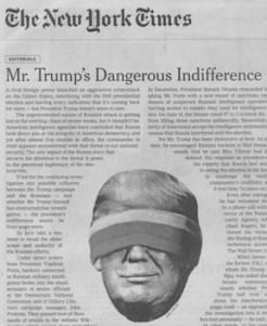 Trump's dangerous indiff
