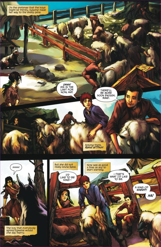 The Wheel of Time: Graphic Novel Preview - Dragonmount (5/6)