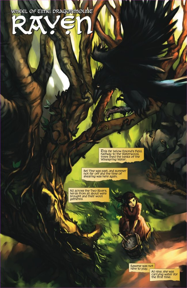 The Wheel of Time: Graphic Novel Preview - Dragonmount (2/6)