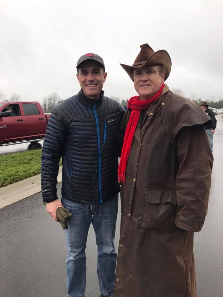 With Senator Elect Steve Santarsiero