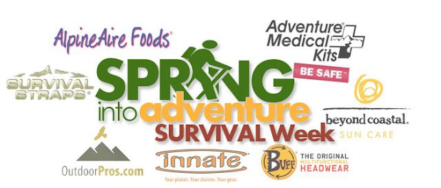 Spring in to Adventure Giveaway Logo - Cold Week