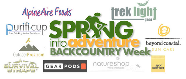 BackCountry Week Giveaway participators logos...