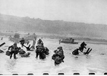 [Picture of D-Day Landings by Capa]