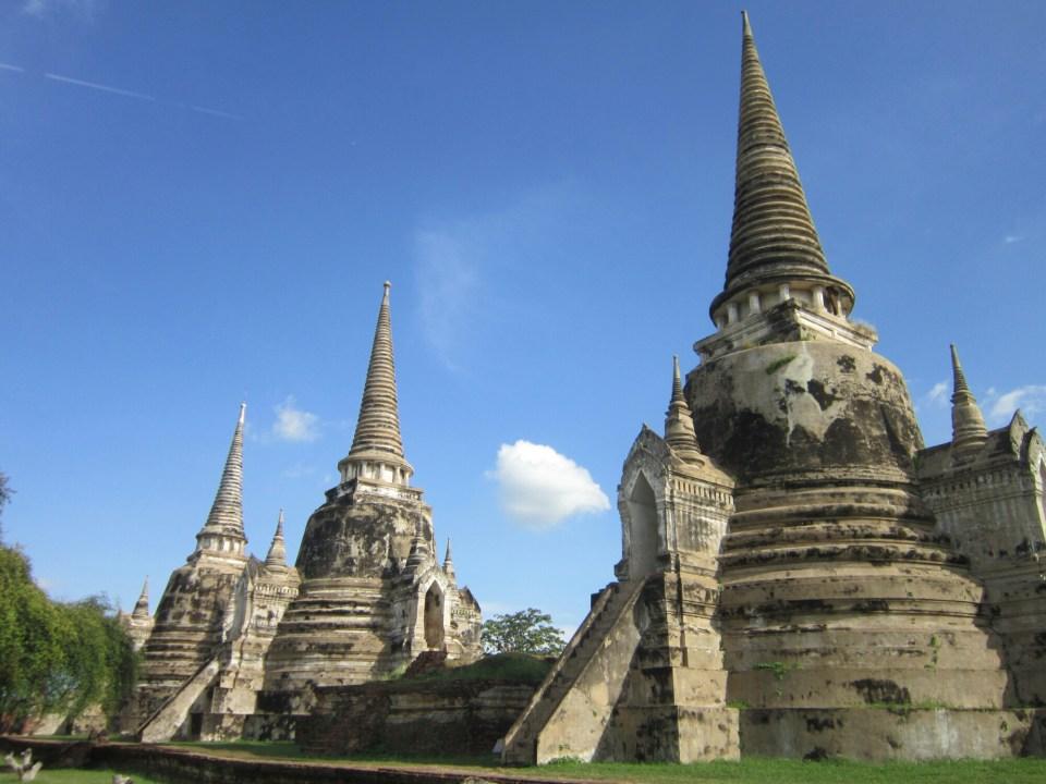 Wat Phra Si Sanphet in Ayutthaya Historical Park