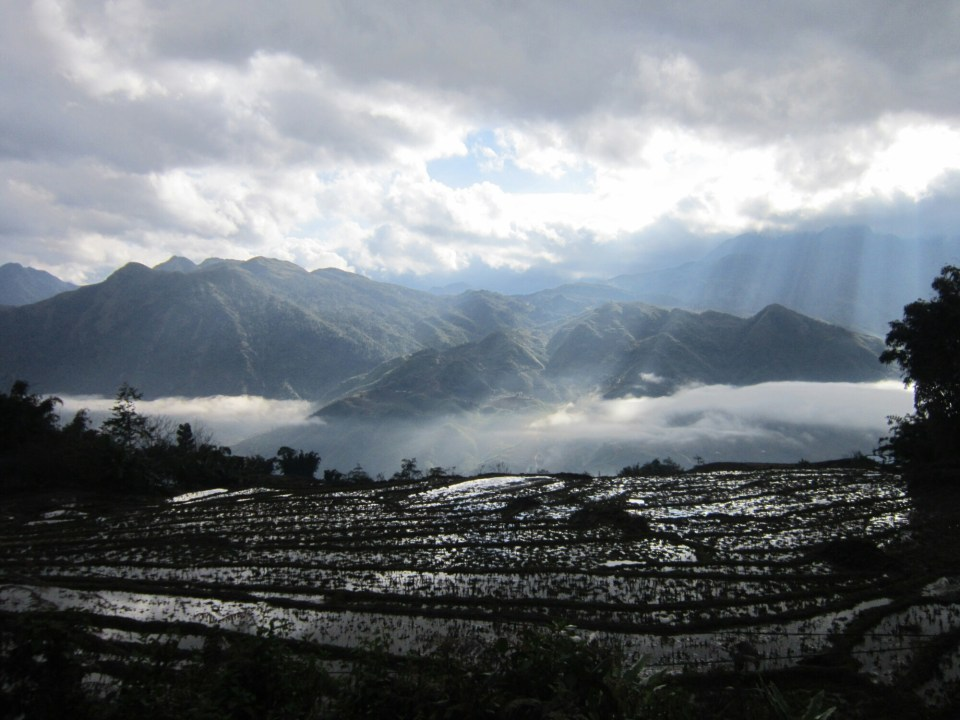 Reason to travel - Picture taken whilst trekking in SaPa, Vietnam