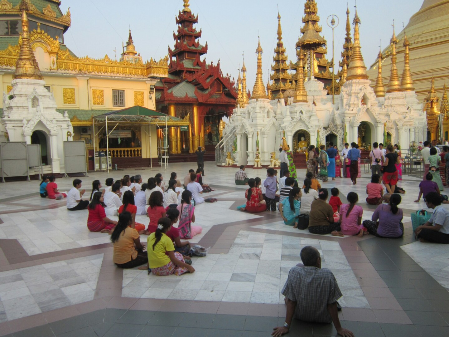 Visiting Buddhist temples and respecting Buddhist beliefs in Southeast Asia